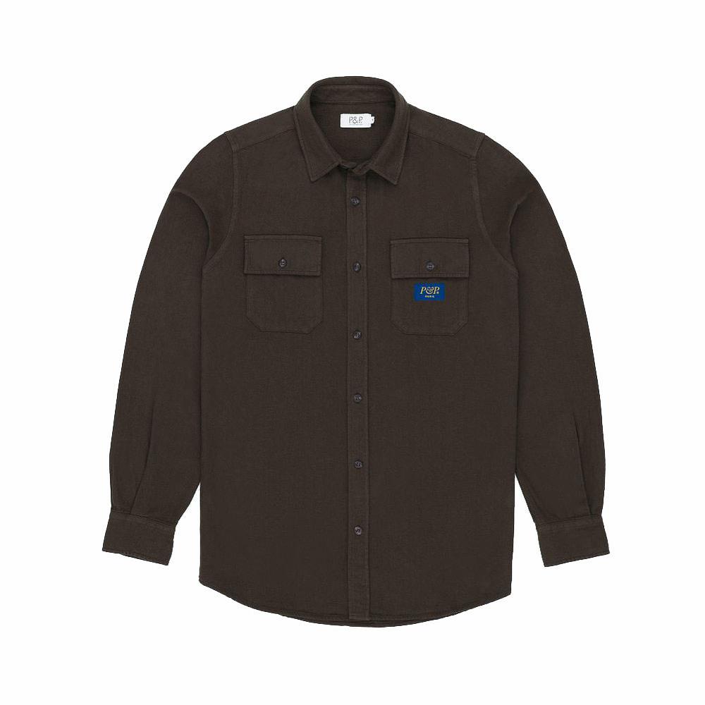 Flanel Shirt Brown