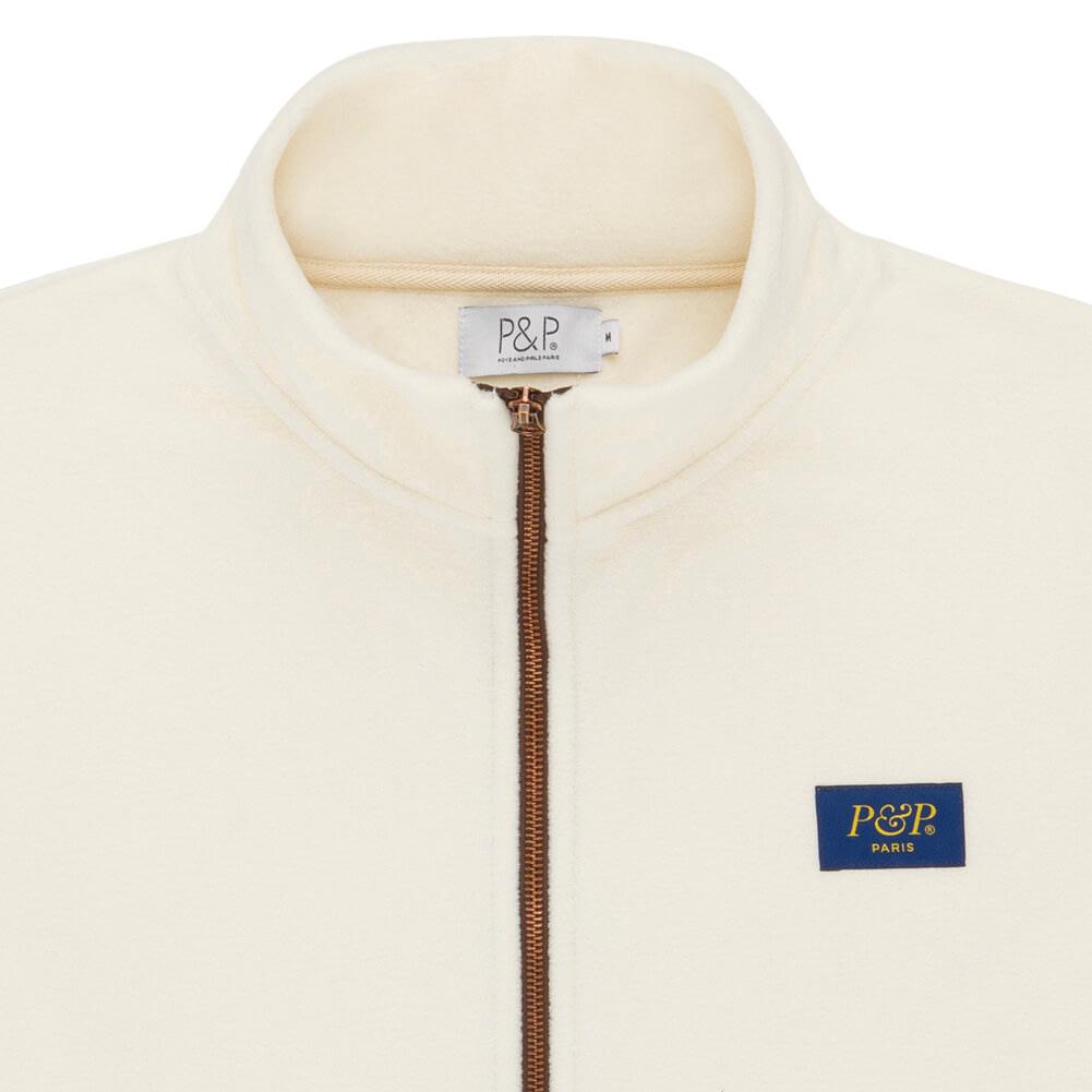 Polar Jacket P&P OffWhite Zip Detail