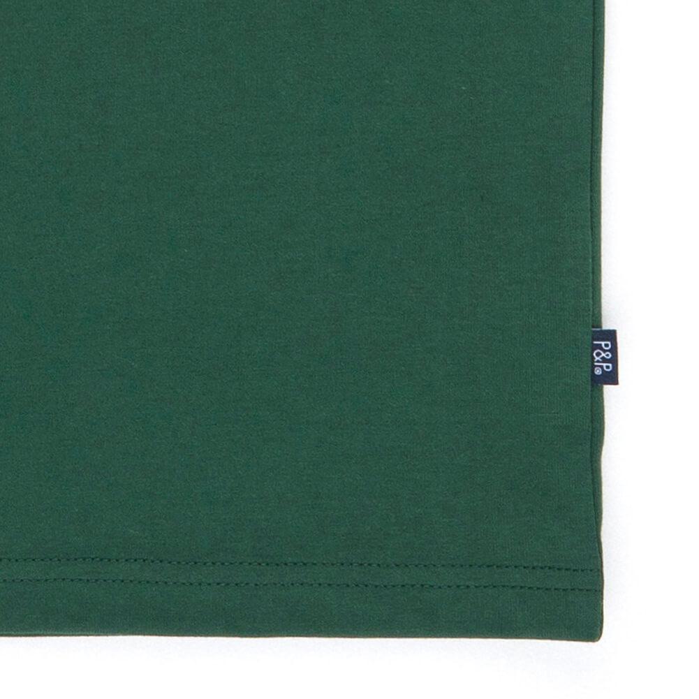 Organic Dark T-Shirt No More Tears Detail