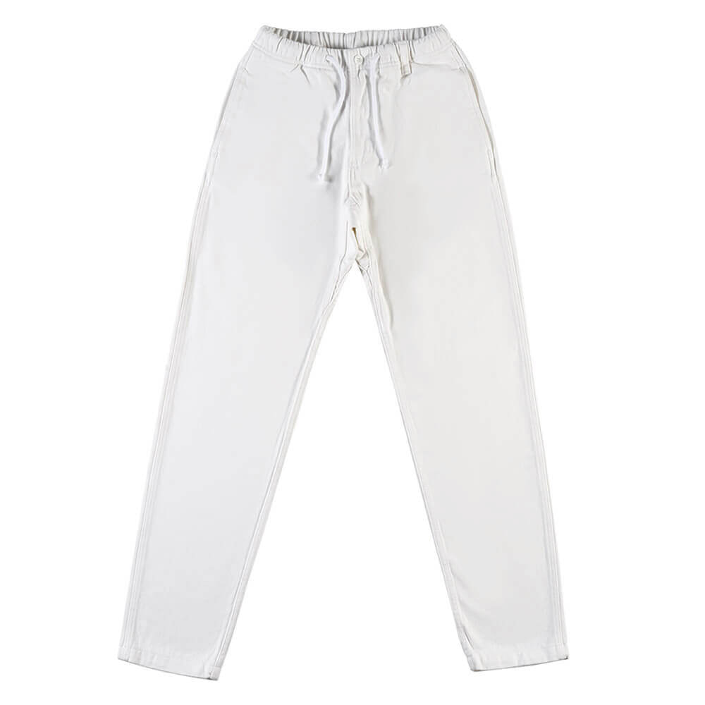 Organic Pants Easy White
