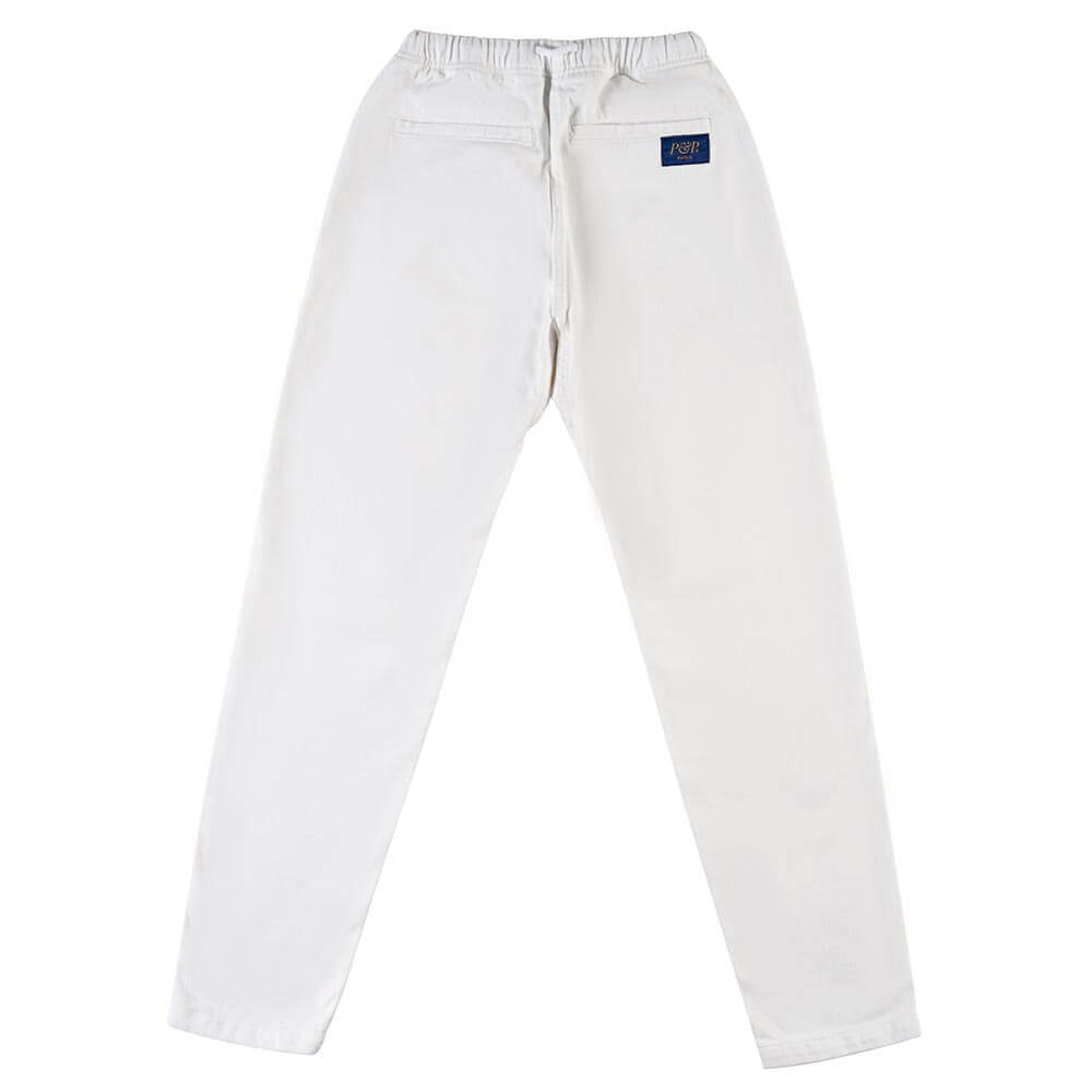 Organic Pants Easy White Back