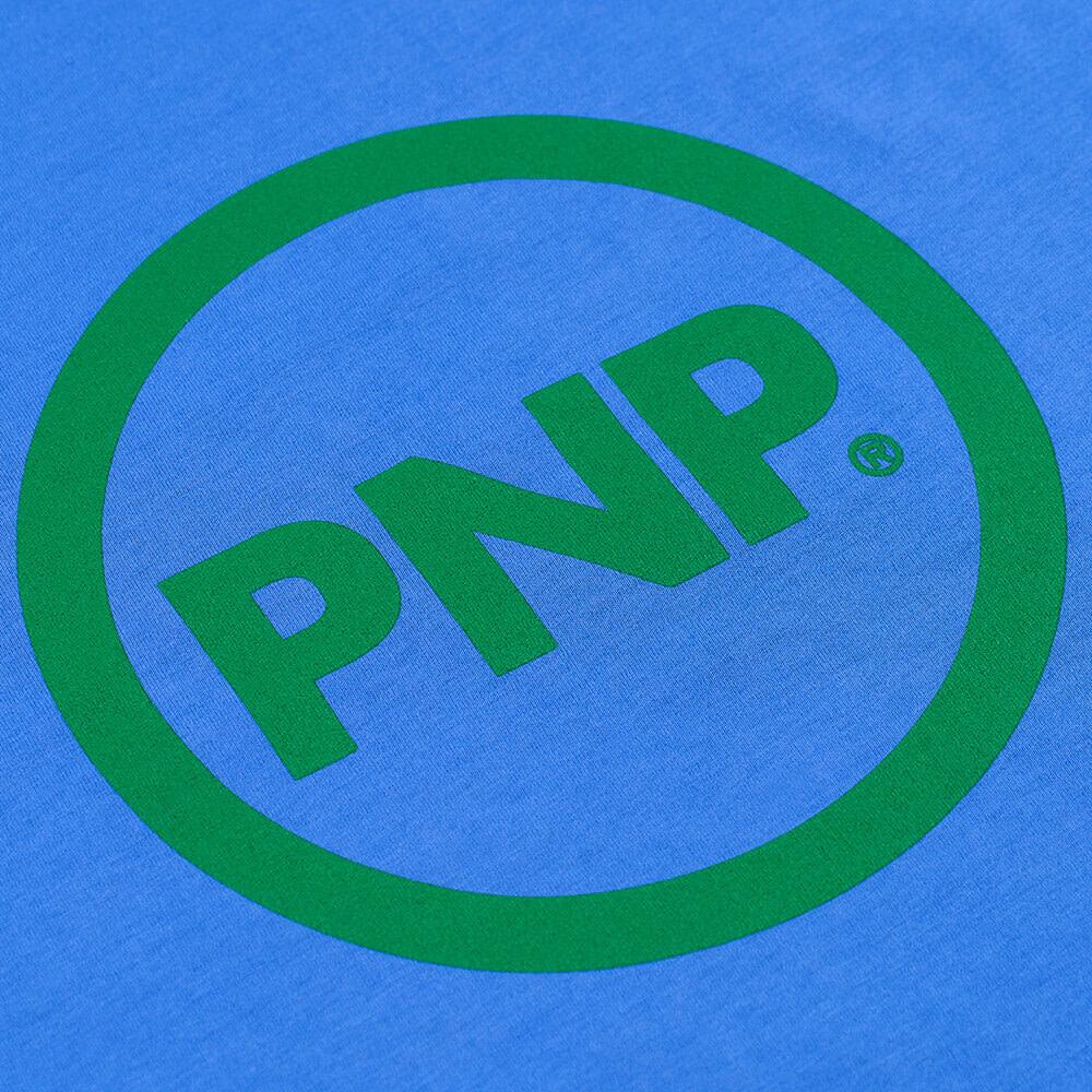 Organic T-Shirt Circle Royal Blue