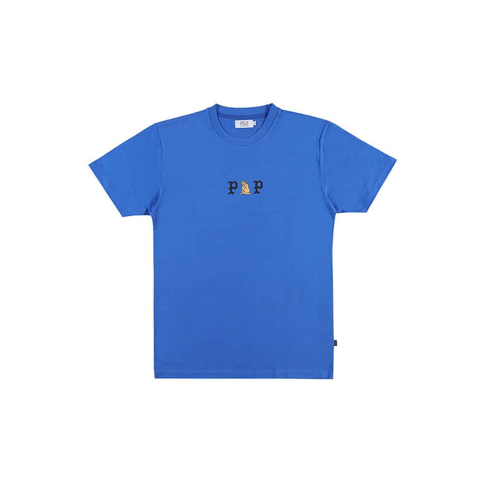 Organic T-Shirt Woman Blue