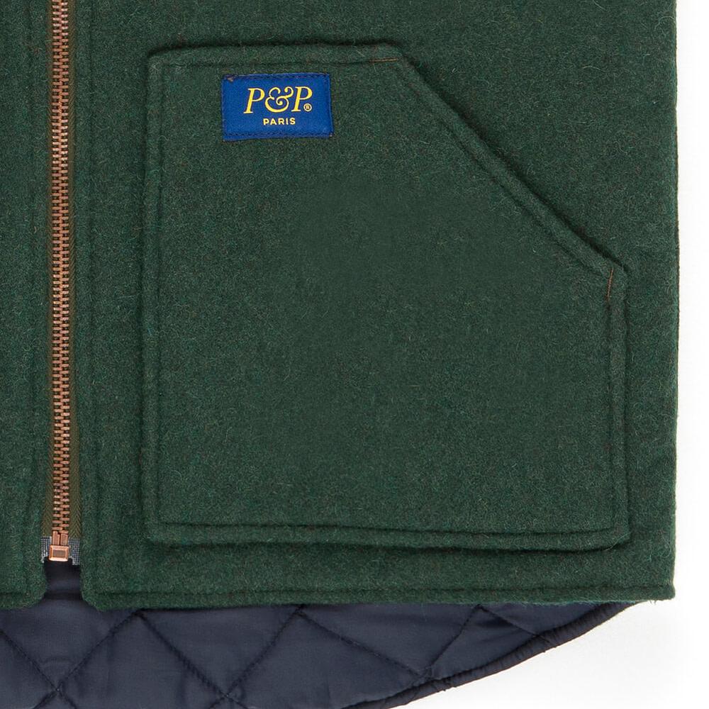 Vest Photo P&P Green Pocket
