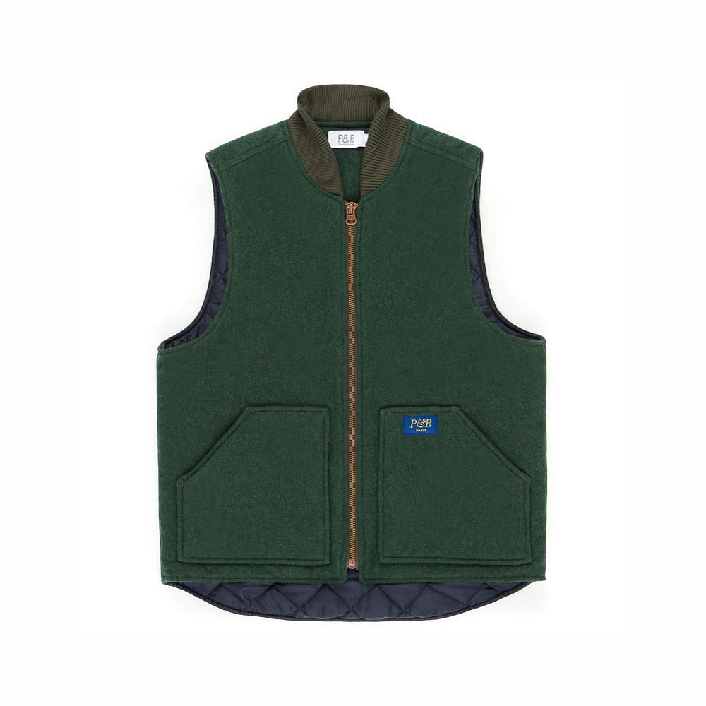 Vest Photo P&P Green