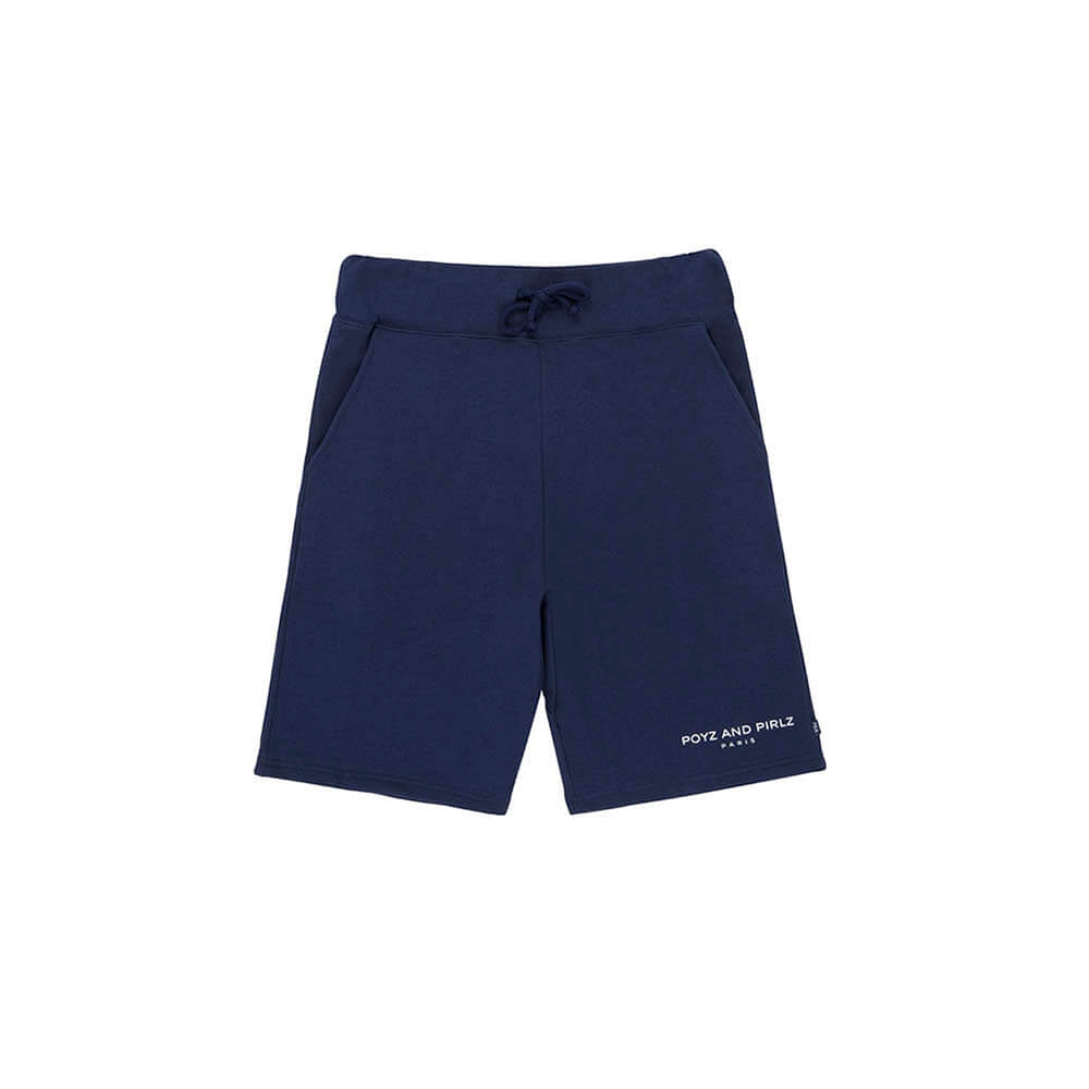 Organic Fleece Short PNP Signature Navy