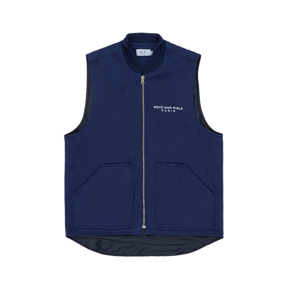 Vest Photo PNP Signature Navy