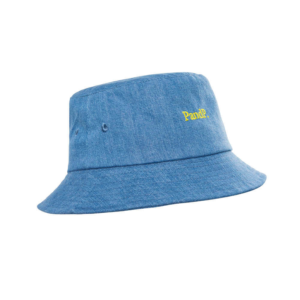 Bucket Hat PandP. Denim