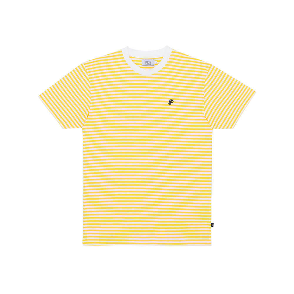 Thin Stripes T-Shirt PNP Yellow/White
