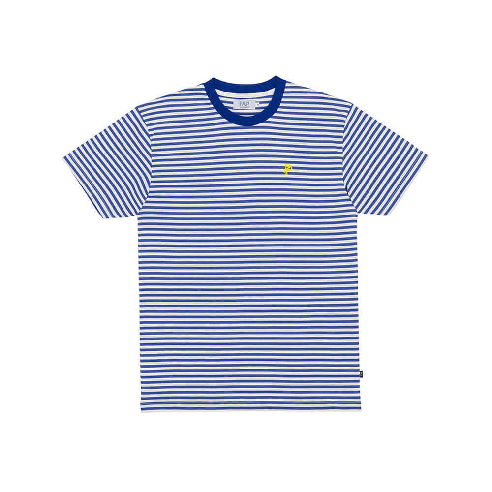 Thin Stripes T-Shirt Blue/White