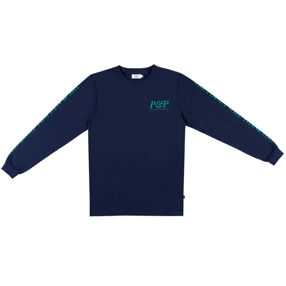Organic T-Shirt P&P Planet Blue