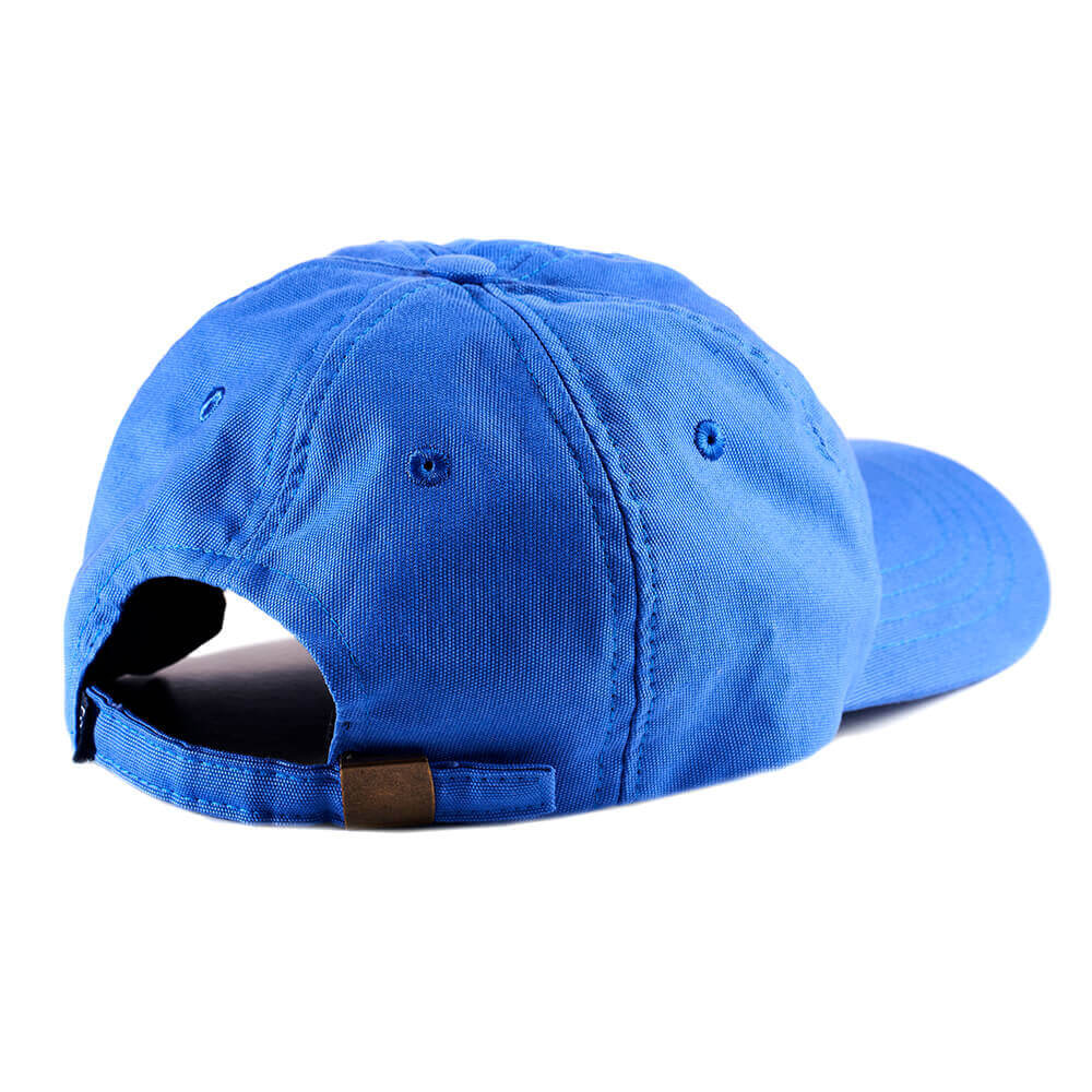 6 Panels Cap P&P Royal Blue Back