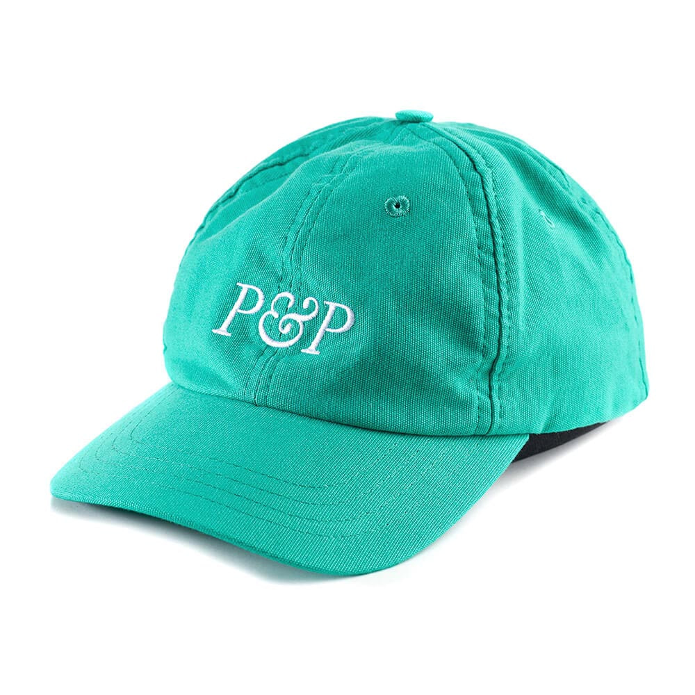 6 Panels Cap P&P Green