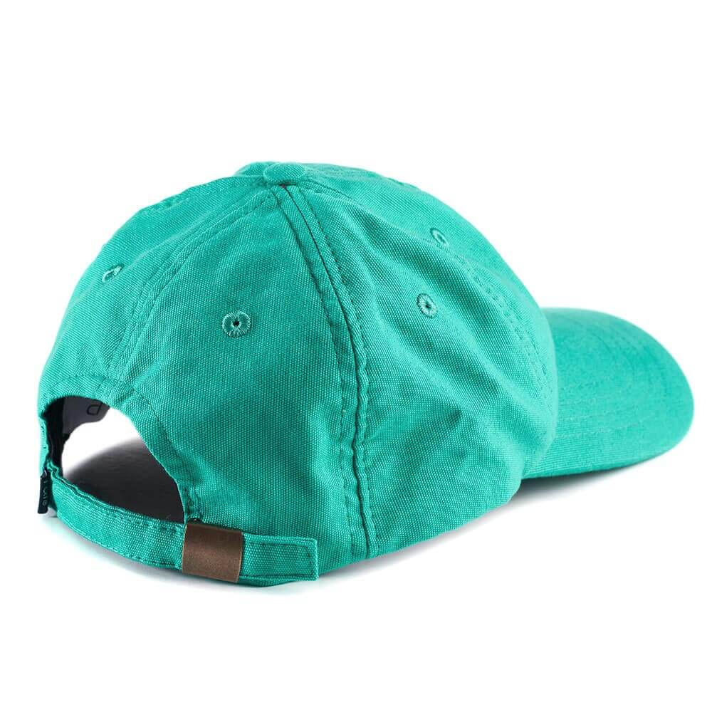 6 Panels Cap P&P Green Back