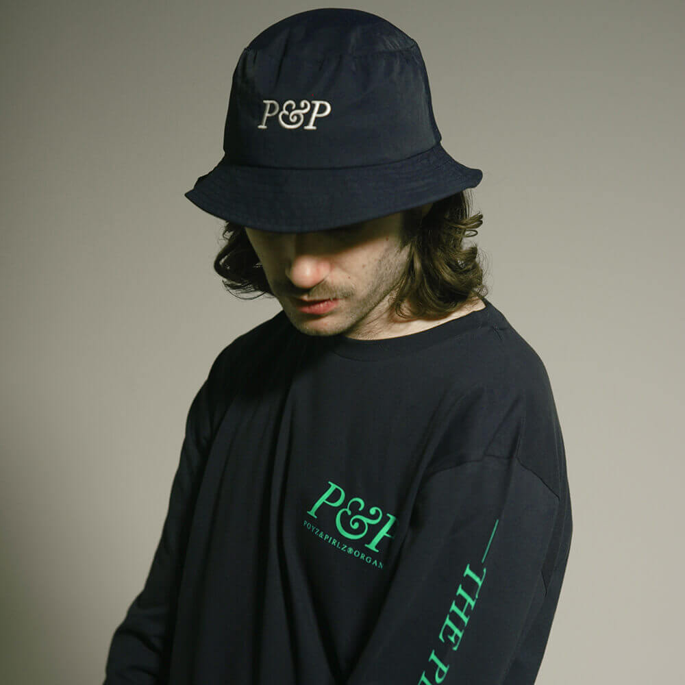 Organic T-Shirt P&P Planet Blue