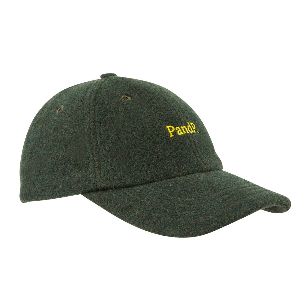 6 Panels Cap P&P dark green
