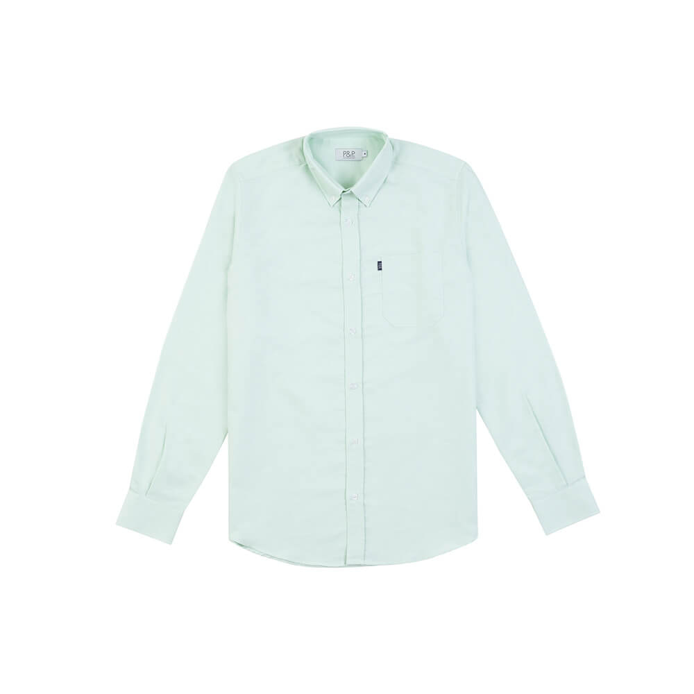 Classic Oxford Shirt Green