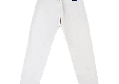 Organic Pants Easy White Back