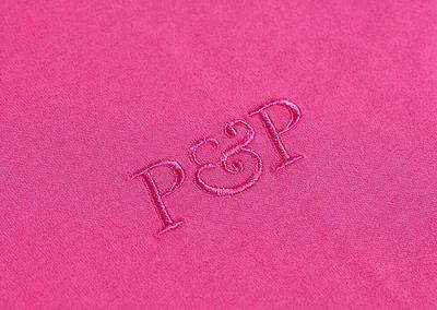 Organic T-Shirt P&P Pink Detail Print