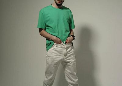Organic T-Shirt P&P Green