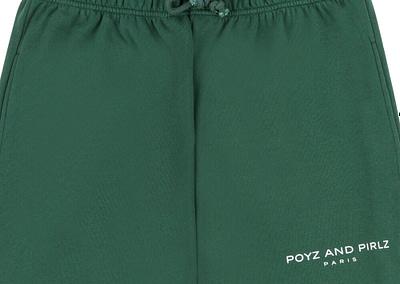 Organic Track Pants POYZ AND PIRLZ Signature Green