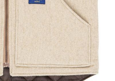 Vest Photo P&P OffWhite Pocket