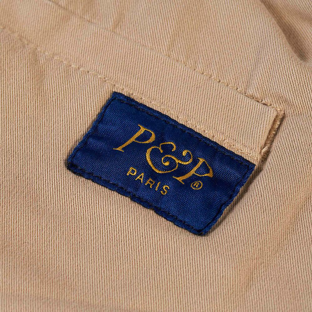 Organic Pants Easy Sand Pocket Detail