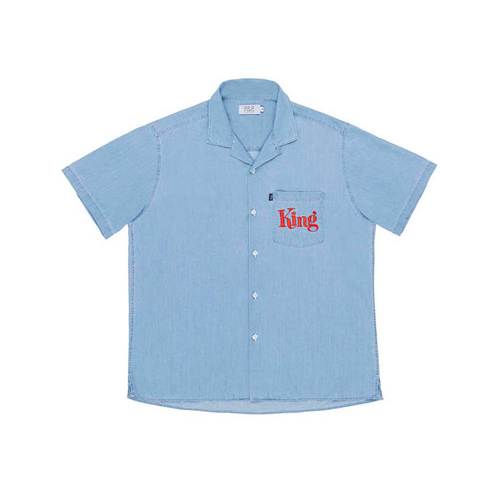 Button Down Shirt King