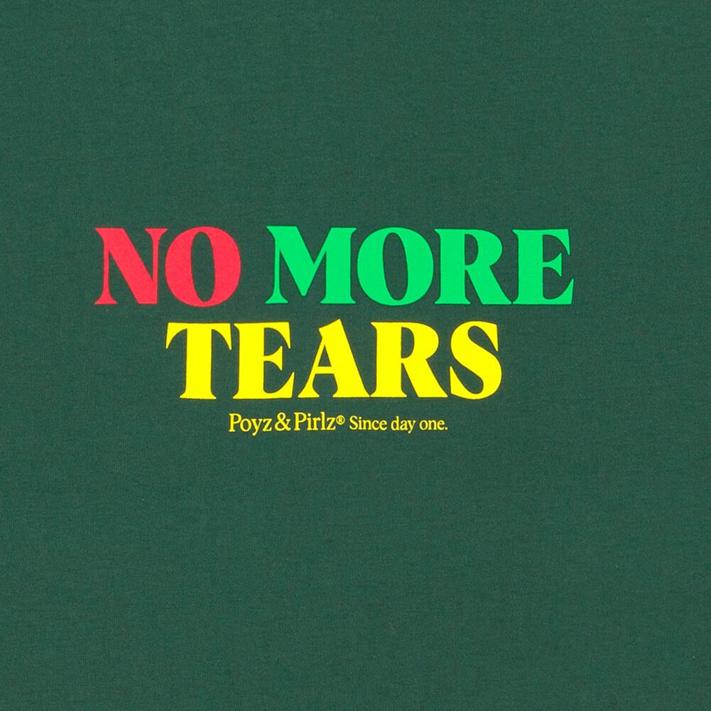 Organic Dark T-Shirt No More Tears Print Detail