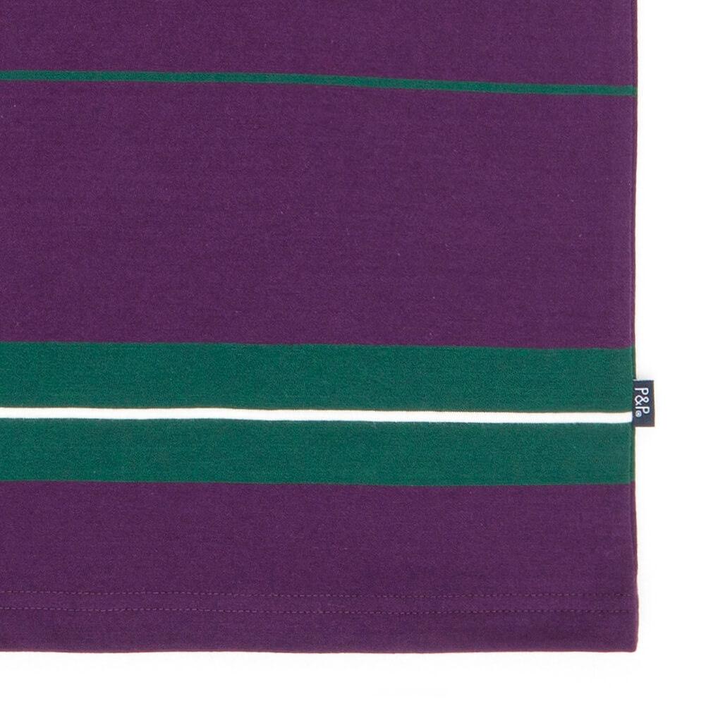 Striped T-Shirt Tricolor Detail